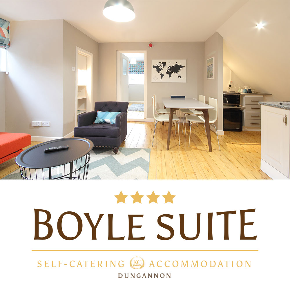 Visit self catering Boyle Suite in Dungannon a perfect accommodation for your break.