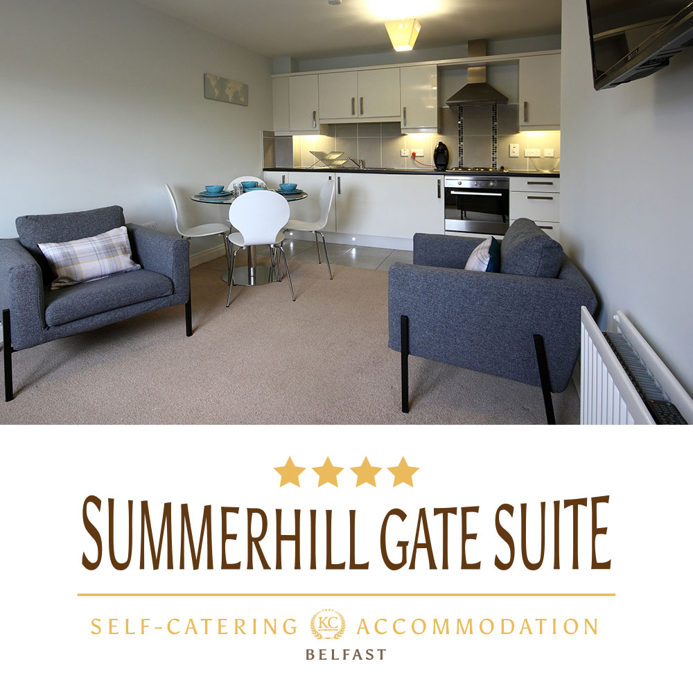 Book self-catering Summerhill Gate Suite accommodation in Northern Ireland. Perfect choice for holidays or business