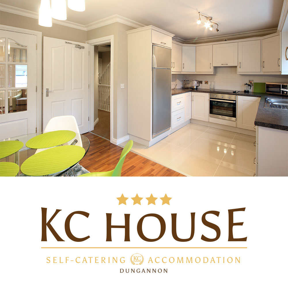 KC House - Holiday Rental Dungannon, Self-Catering Accommodation